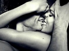 sensual and erotic.black and white.and batman Love Is, Love And Lust, True Love, Kiss Him Not Me, Lip Biting, The Embrace, Love Amor, French Kiss, Favim