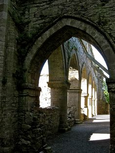 Ireland, Kilkenny, Thomastown, Jerpoint Abbey