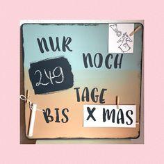 """Jana ID 1138082 on Instagram: """"Wusstet ihr, dass es """"nur"""" noch 249 Tage sind bis Weihnachten 🤣 Mich hat das """"Schulstart"""" Schild im Netz so inspiriert, also musste ich…"""""""