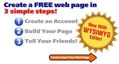 Create a FREE webpage
