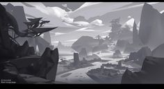 The composition is draft design, G liulian on ArtStation at https://www.artstation.com/artwork/RavRX