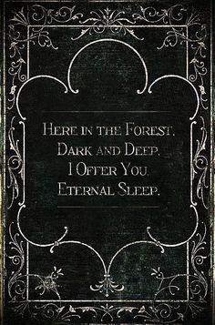 Dark and Deep