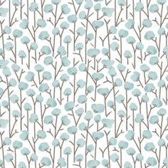 Hawthorne Threads - Lamb - Cotton Field in Glacier Blue