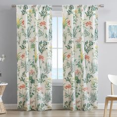 DRAPES IN SECONDS: A rod pocket header makes it easy to drape these panels with a curtain rod of your choice. Try hanging in front of other treatments for a layered look!