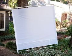 Make Your Own DIY Scrim for Under $50 - great idea for outdoor photos!