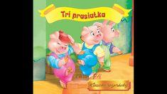 Tri prasiatka -Slovenská Audio rozprávka pre deti