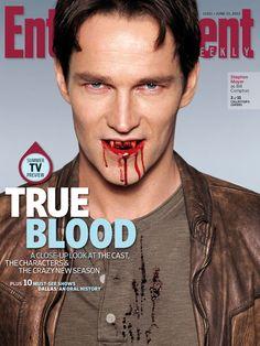 Stephen Moyer EW June 15, 2012 cover