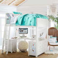 Find cute and cool girls bedroom ideas at Pottery Barn Teen. Shop your dream room with our teen room inspiration and ideas. Cute Bedroom Ideas, Room Ideas Bedroom, Small Room Bedroom, Bedroom Decor, Bedding Decor, Chic Bedding, Modern Bedding, Teen Bedroom, Bedroom Inspo