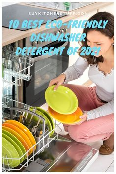 Eco-Friendly Dishwasher Detergent is a kind of detergent that is good for the environment. Basically, it is free from phosphate that makes it more eco-friendly than usual. Find the Best Eco-Friendly Dishwasher Detergent of 2021 at Buykitchenstuff. Best Dishwasher Detergent, Eco Friendly, Environment, Free