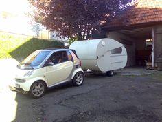 CarHouse: Smart Fortwo con Caravana