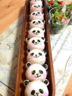 panda riceballs♡