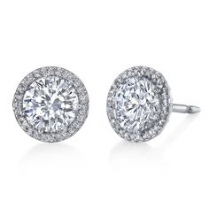 Diamond Stud Earrings | Tacori Diamond Stud Earrings from Robbins Brothers (sku 0384162)