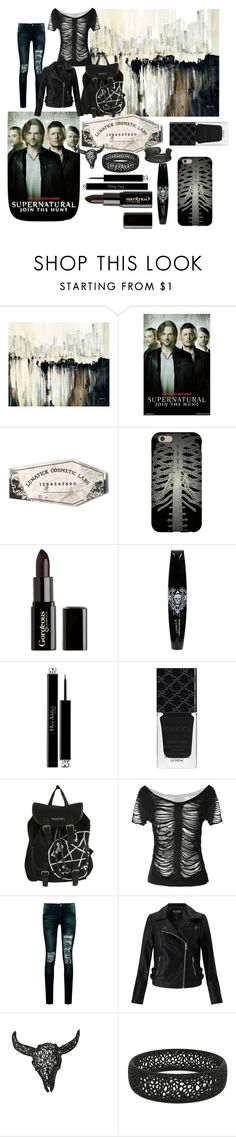 """dark soul part 3"" by roselilyskyler ❤ liked on Polyvore featuring Leftbank Art, LunatiCK Cosmetic Labs, Gorgeous Cosmetics, Christian Dior, Gucci, Boohoo and Miss Selfridge"