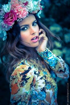 ❀ Flower Maiden Fantasy ❀ beautiful photography of women and flowers - By Fotomodeles