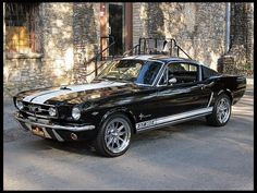 """doyoulikevintage:  """" 1965 Ford Mustang Fastback  """""""