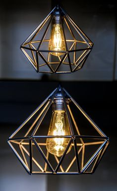 Himmeli Big Geometric Lamp by deadhedron on Etsy