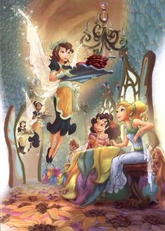"""""""In the Realm of the Never Fairies offers a detailed look at Disney's newest fantasy world"""""""