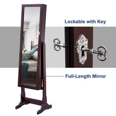 Find professional floor standing mirror jewelry armoire manufacturers and suppliers in China here - JUSTHOW. We provides the best floor standing mirror jewelry armoire with competitive price, welcome to contact our factory for details. Floor Standing Mirror, Floor Mirror, Mirror Box, Wall Mounted Mirror, Computer Armoire, Mirror Jewellery Cabinet, Musical Jewelry Box, Gun Storage, Wood Veneer