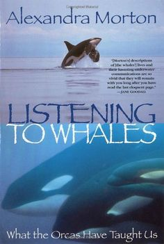 Listening to Whales: What the Orcas Have Taught Us by Alexandra Morton http://www.amazon.com/dp/0345442881/ref=cm_sw_r_pi_dp_QdG4ub18SCK13