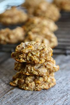 Soft Baked Banana Breakfast Cookies