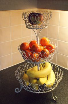 My 3 tiered fruit bowl