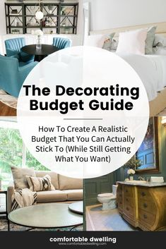 The Home Decorating Budget Guide by Heather Prestanski of Comfortable Dwelling. This guide helps you get the look and style you want in your home on a budget that's perfect for anyone.   how to decorate on a budget   home decor budget ideas for the home   modern diy home decor budget   home decor ideas   home decor ideas modern   Heather Prestanski   #homedecorideas #budgetfriendlyhomedecor #decoratingguide #DecoratingTips #comfortabledwelling #windsorontario #windsoressex #windsor Teal Living Rooms, Family Dining Rooms, Desk In Living Room, Colourful Living Room, Home Styles Exterior, Traditional Dining Rooms, Transitional Home Decor, Room Ideas, Decor Ideas
