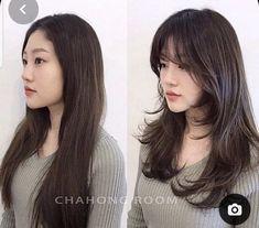 Haircuts Straight Hair, Haircuts For Medium Hair, Medium Long Hair, Medium Hair Cuts, Long Hair Cuts, Medium Hair Styles, Short Hair Styles, Korean Medium Hair, Fringe Hairstyles