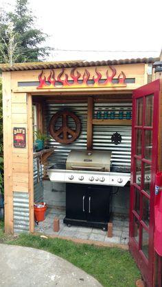 My BBQ shelter