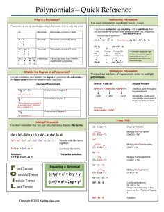 Polynomial Practice Worksheet | Free Printable Math Worksheets - Mibb ...