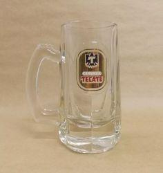 Caneca Vidro Macheteado Cerveza Tecate - R$ 138,00 em Mercado Livre