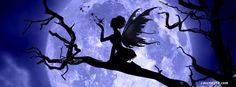 Fairy By The Moonlight Facebook Covers, Fairy By The Moonlight FB Covers, Fairy By The Moonlight Facebook Timeline Covers, Fairy By The Moonlight Facebook Cover Images