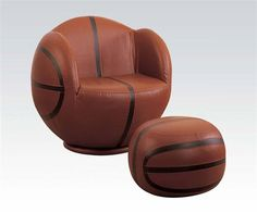 Acme Furniture, Brown, Kids Upholstered Chair and Ottoman Set Swivel Barrel Chair, Swivel Armchair, Upholstered Chairs, Acme Furniture, Retro Furniture, Sofa Furniture, Wooden Furniture, Furniture Dolly, Furniture Removal