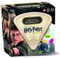 Harry Potter official Trivial Pursuit game -Available in the U.K.