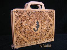 Horse Show Style Organizer - Bob Park Custom Leather - Gallery - Leatherworker.net