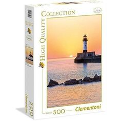 Sunset to the Lighthouse - 500 Piece Jigsaw Puzzle