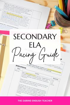Teaching Grammar, Teaching Writing, Teaching Resources, Pacing Guide, Teaching Secondary, Curriculum Mapping, Middle School Ela, High School English, Writing Lessons