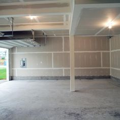 Finishing The Garage Part 1 Insulating And Drywalling