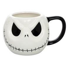 Jack Skellington is here in this Jack Head Mug. Click the link in our bio to get this mug on #sale now in the #InkedShop