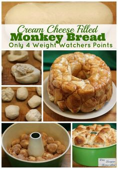 Monkey Bread Recipe with Cream Cheese Wowza my favorite recipe for breakfast