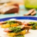 Steak and Chimichurri Toasts(From Scratch <3)