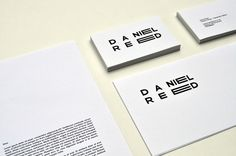 Brand Identity Daniel Reed on the Behance Network