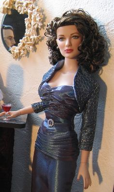 Tonner ~ Ava Gardner ~ Image and styling by Olga in NY ~ The Studio Commissary