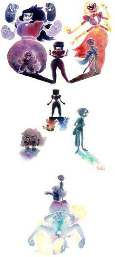 See more 'Steven Universe' images on Know Your Meme! Steven Universe Wallpaper, Steven Universe Drawing, Steven Universe Funny, Universe Art, Cumpleaños Lady Bug, Fanart, Steven Univese, Cartoon Art, Fandoms