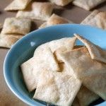 Homemade Saltines, replace vegan margarine or olive oil for butter