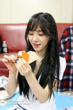 AOA - Kwon MinA #권민아 #민아 [Minaring #민아링] at AOA Level Up Special for 3rd Mini Album 'Heart Attack' 150713 #하트어택 #심쿵해 #팬카페