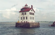Lorain, OH : Old Lighthouse at the entrance to Lorain harbor