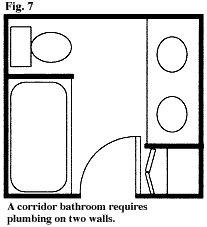5x9 or 5x8 bathroom plans | house ideas | Bathroom ...