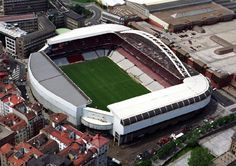 San Mames (40.600).Athletic Club stadium Bilbao