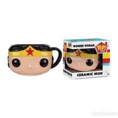 Wonder Woman Pop Home 12oz Mug