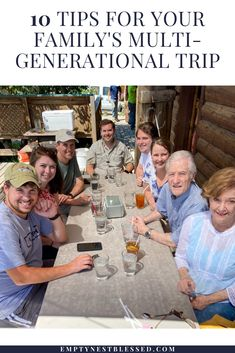 Our family just got back from a multi-generational trip with 9 people, ranging in age from 21 to 81! Here's how we did it & what we learned along the way. Bridal Shower Gifts, Baby Shower Gifts, Baby Gifts, Empty Nest Syndrome, Interpersonal Relationship, Seasons Of Life, Parenting Teens, Adult Children, Your Family